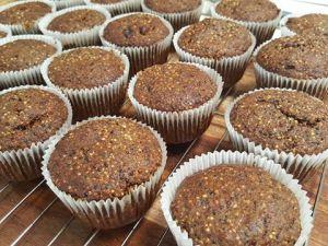Cinnamon muffin