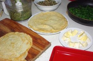 HERB VEGETARIAN CREPES 4