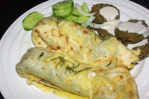HERB VEGETARIAN CREPES 9