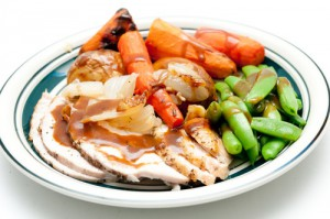 Skinless Chiken and veg