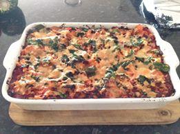 Sweet Potato, Leek, Carrot Lasagna