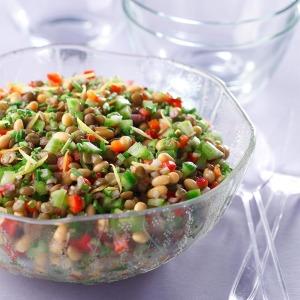 salad lentils