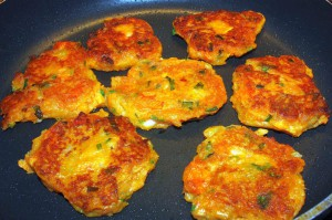 sweet potato cakes  1