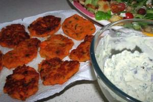 sweet potato cakes  2