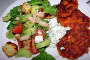 sweet potato cakes  3