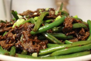 Greens Beans with Beef 2