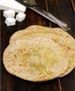LOW FAT PANEER PARATHAS 1