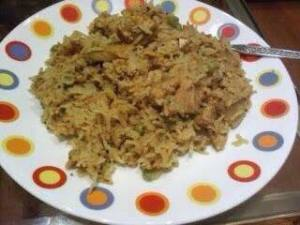 NO OIL CHICKEN PULAO