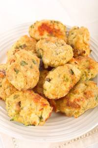 AIRFRYER CAULIFLOWER CHEESE TATER TOTS