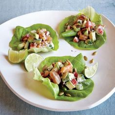 Curry Chicken Salad Lettuce Wraps 1