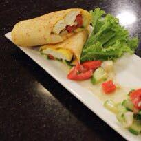 PANEER AND SALSA TORTILLA WRAPS